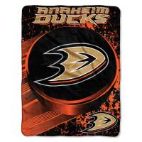 Anaheim Ducks Super Plush NHL Decke