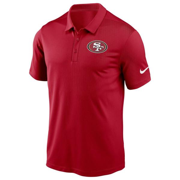 San Francisco 49ers Team Logo Franchise Nike NFL Poloshirt