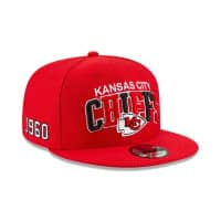 Kansas City Chiefs 2019 NFL 1990s Sideline 9FIFTY Snapback Cap Home