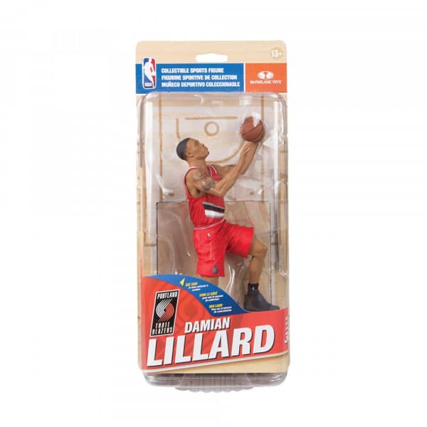 NBA 30 Damian Lillard Portland Trail Blazers Collector Level Silver Variante #1000