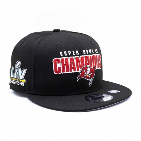 Tampa Bay Buccaneers Super Bowl LV Champions New Era 9FIFTY NFL Snapback Cap