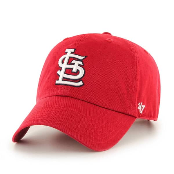 St. Louis Cardinals Clean Up Adjustable MLB Cap Home