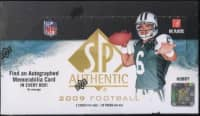 2009 Upper Deck SP Authentic Football Hobby Box NFL