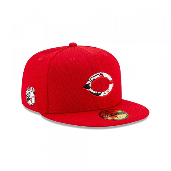 Cincinnati Reds 2020 Authentic Spring Training 59FIFTY Fitted MLB Cap