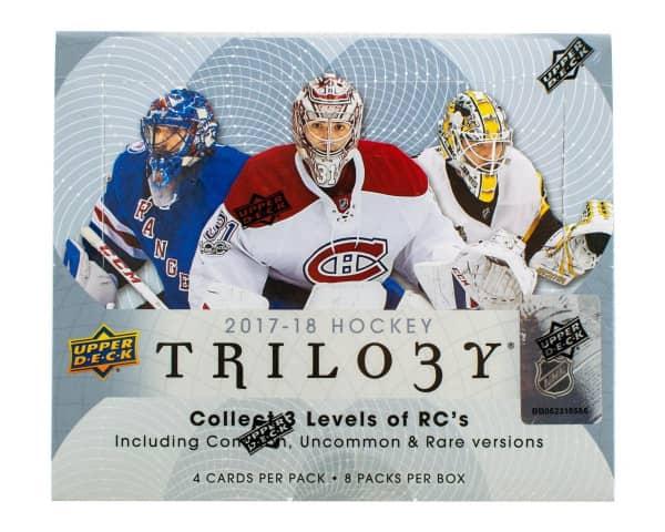 2017/18 Upper Deck Trilogy Hockey Hobby Box NHL