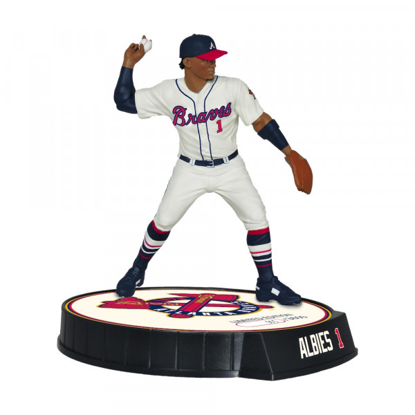 2019 Ozzie Albies Atlanta Braves Limited Edition MLB Action Figur