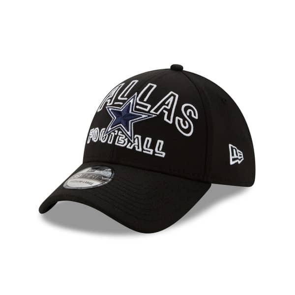 Dallas Cowboys 2020 NFL Draft New Era 39THIRTY Flex Fit Cap Alternate