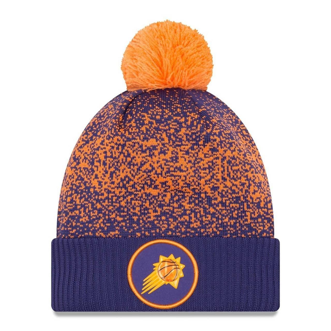 f265a8ead1c4e7 New Era Phoenix Suns 2017 On-Court NBA Knit Hat | TAASS.com Fan Shop
