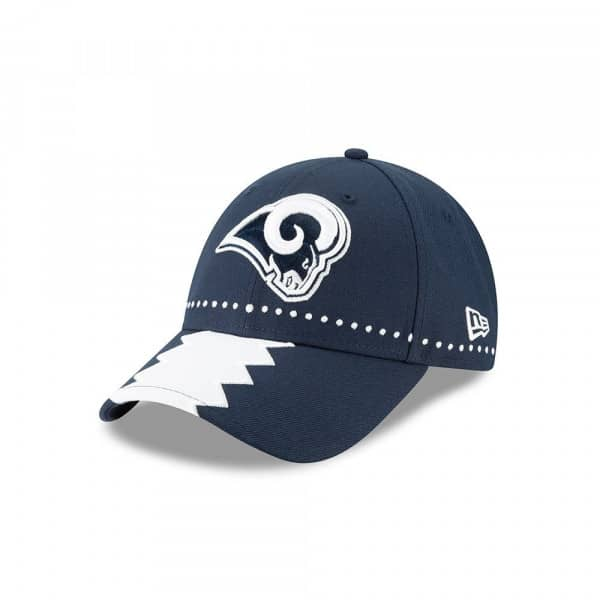 Los Angeles Rams 2019 NFL Draft On-Stage 9FORTY Adjustable Cap