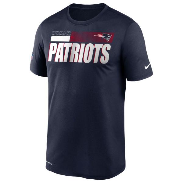 New England Patriots 2020 NFL Sideline Nike Legend T-Shirt Navy