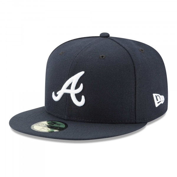Atlanta Braves Authentic 59FIFTY Fitted MLB Cap Road