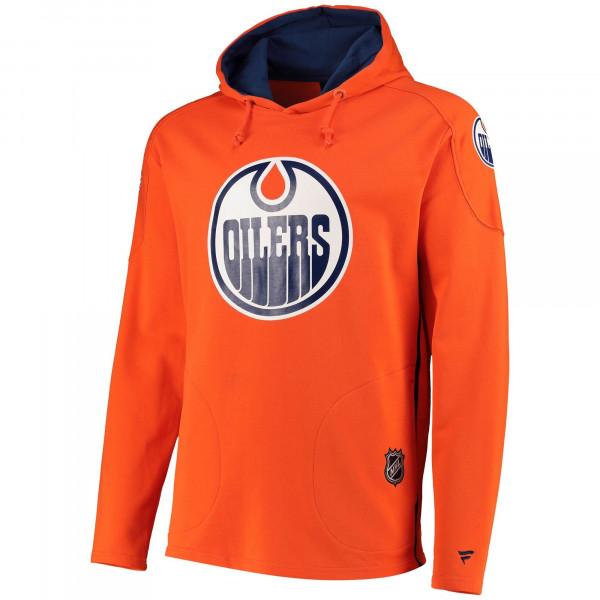 Edmonton Oilers Overhead Fanatics Franchise NHL Hoodie