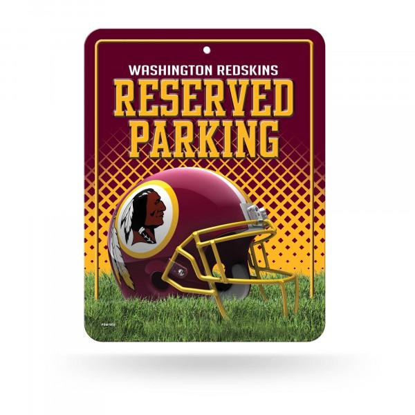 Washington Redskins Reserved Parking NFL Metallschild