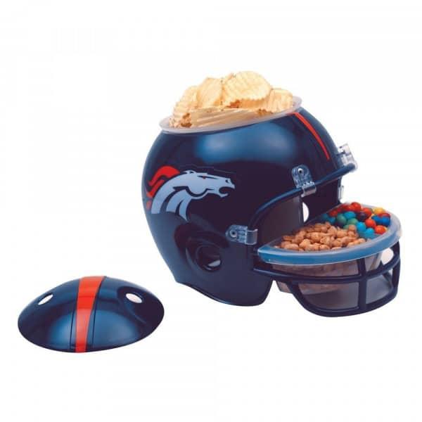 Denver Broncos Football NFL Snack Helmet