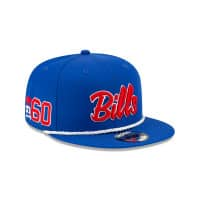 Buffalo Bills 2019 NFL On-Field Sideline 9FIFTY Snapback Cap Home