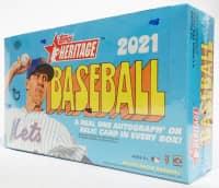 2021 Topps Heritage Baseball Hobby Box MLB