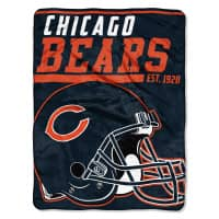 Chicago Bears Super Plush NFL Decke