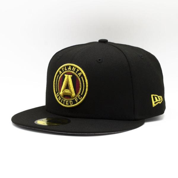 Atlanta United FC Team Logo New Era 59FIFTY Fitted MLS Cap