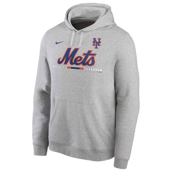 New York Mets Color Bar Nike Club Fleece MLB Hoodie