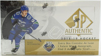 2018/19 Upper Deck SP Authentic Hockey Hobby Box NHL