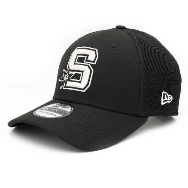 San Antonio Spurs 2019 NBA Back Half 39THIRTY Stretch Fit Cap