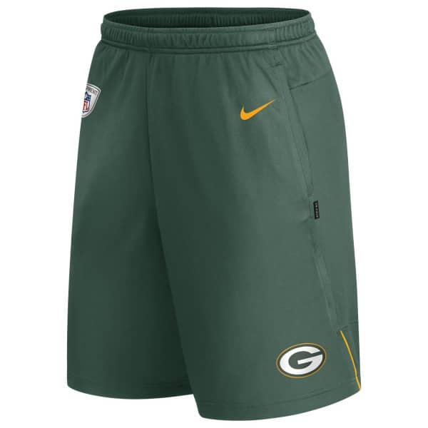 Green Bay Packers Nike 2020 NFL On-Field Coach Training Shorts