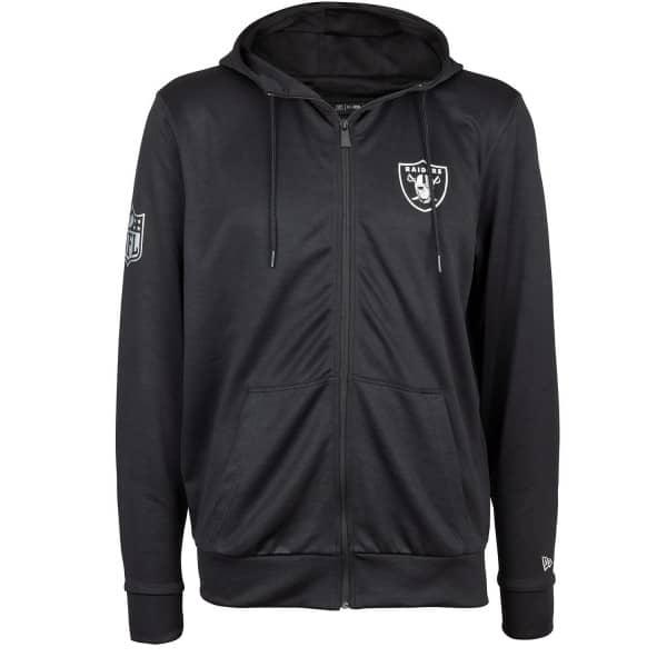 Oakland Raiders Pop Full-Zip NFL Hoodie
