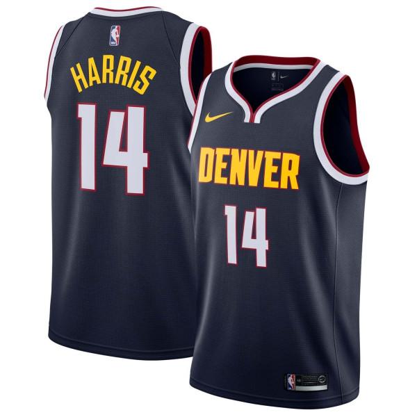 Gary Harris #14 Denver Nuggets Icon Swingman NBA Trikot Navy