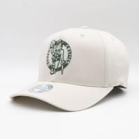 Boston Celtics Stone Forest Mitchell & Ness 110 Stretch Snapback NBA Cap