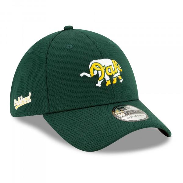 Oakland Athletics 2021 MLB Batting Practice New Era 39THIRTY Flex Cap