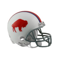 Buffalo Bills NFL Throwback Riddell Mini Helm (1965-73)