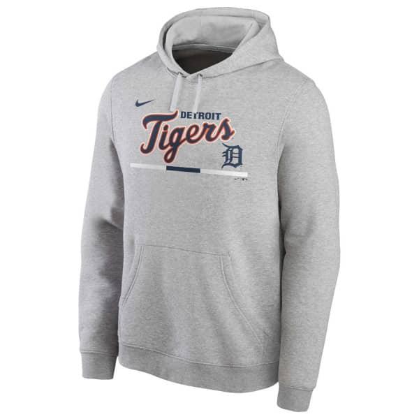 Detroit Tigers Color Bar Nike Club Fleece MLB Hoodie