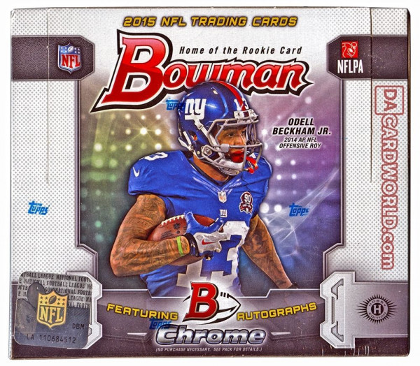 2015 Bowman Football Hobby Box NFL