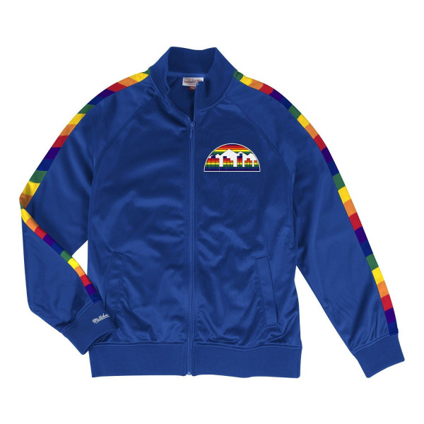Denver Nuggets Hardwood Classics NBA Track Jacket