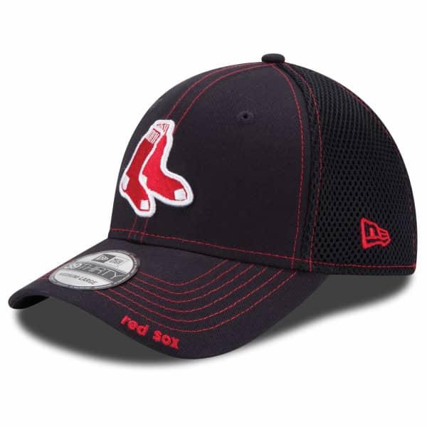 Boston Red Sox Team Neo New Era 39THIRTY MLB Cap