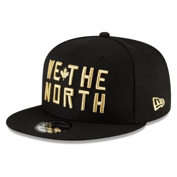 Toronto Raptors Official 2020/21 City Edition New Era 9FIFTY Snapback NBA Cap Alternate