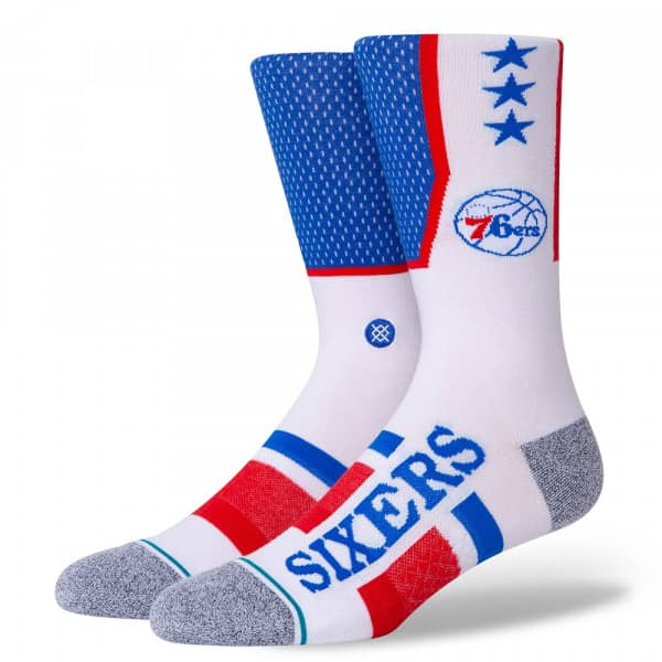 Philadelphia 76ers InfiKnit Shortcut NBA Socken