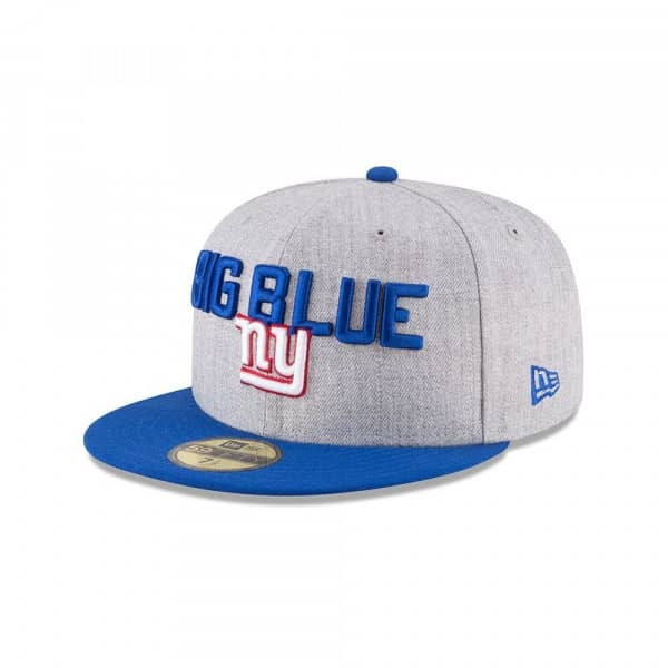 purchase cheap d08a6 a5ac4 New Era New York Giants 2018 NFL Draft 59FIFTY Fitted Cap   TAASS.com Fan  Shop