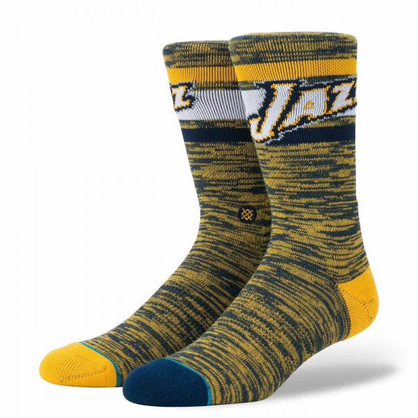 sports shoes 555da fe016 Stance Utah Jazz Melange NBA Socks   TAASS.com Fan Shop