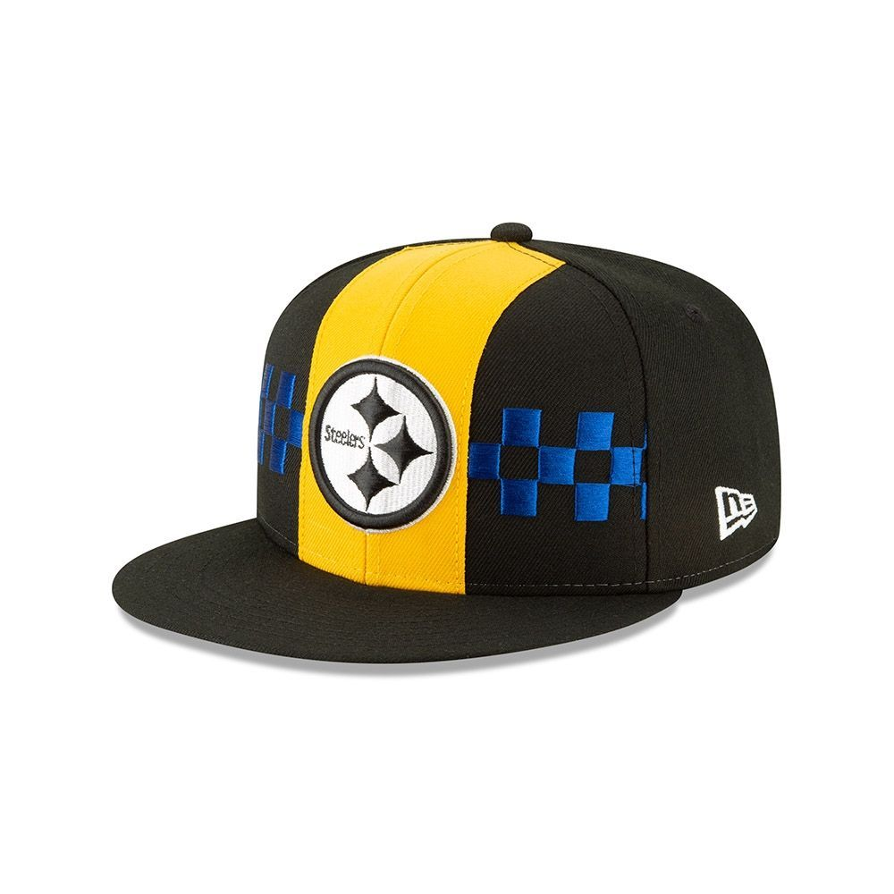huge selection of aec58 698e6 New Era Pittsburgh Steelers 2019 NFL Draft 9FIFTY Snapback Cap Spotlight    TAASS.com Fan Shop