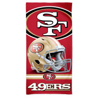 San Francisco 49ers WinCraft Spectra NFL Strandtuch