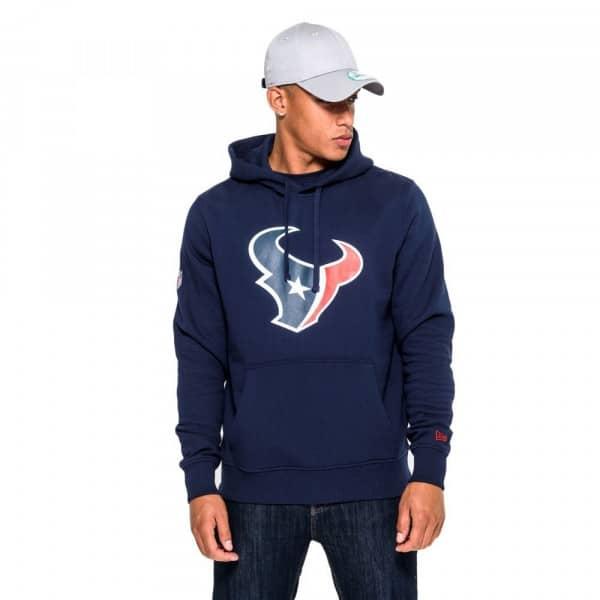 Houston Texans Logo Hoodie NFL Sweatshirt Navy