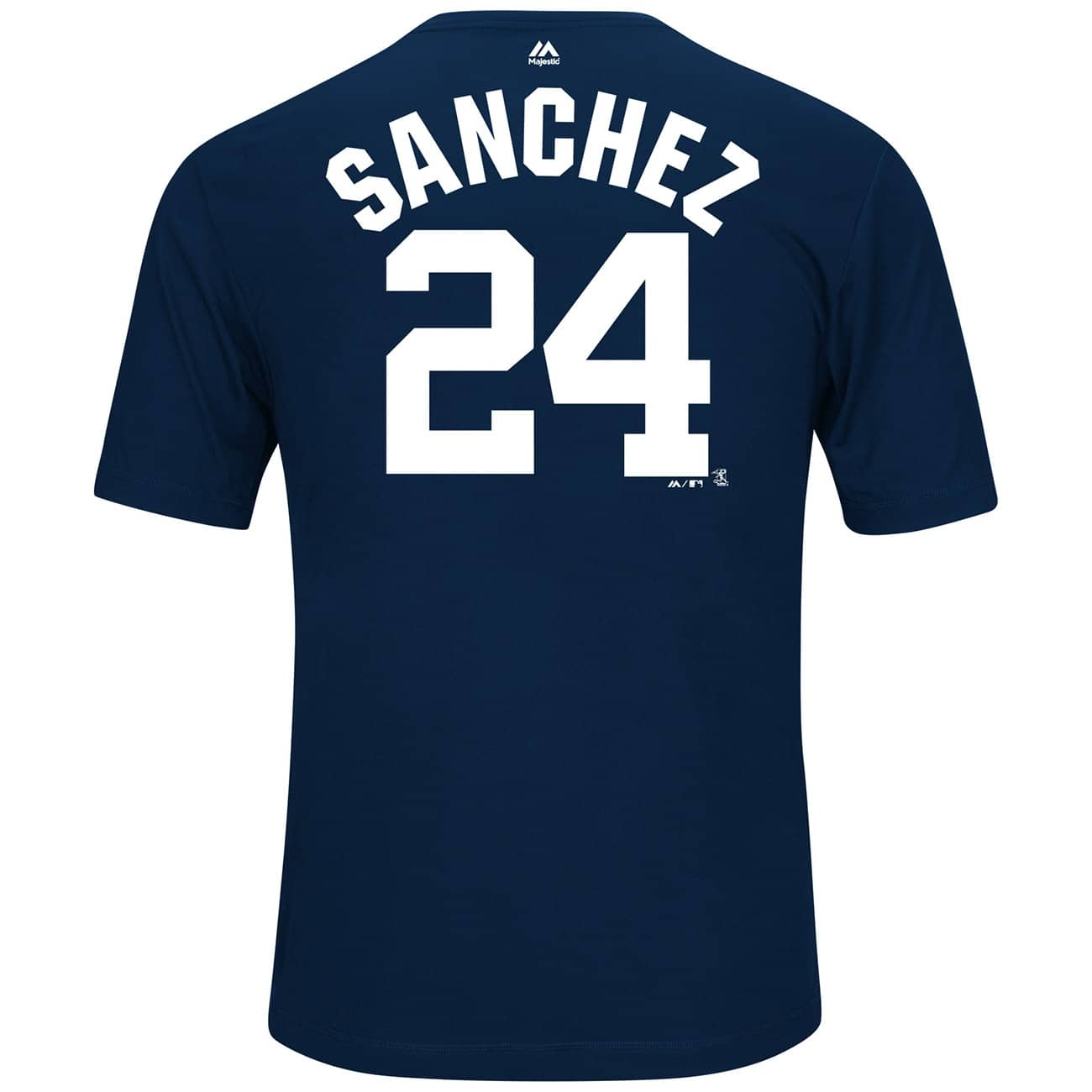 majestic gary sanchez 34 new york yankees player mlb t shirt navy fan shop. Black Bedroom Furniture Sets. Home Design Ideas