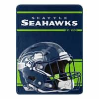 Seattle Seahawks Run Northwest Super Plush NFL Decke
