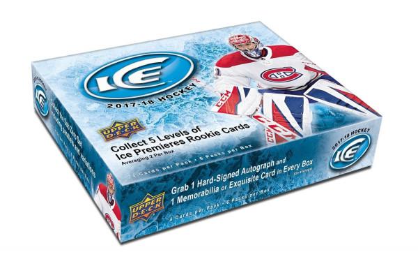 2017/18 Upper Deck Ice Hockey Hobby Box NHL