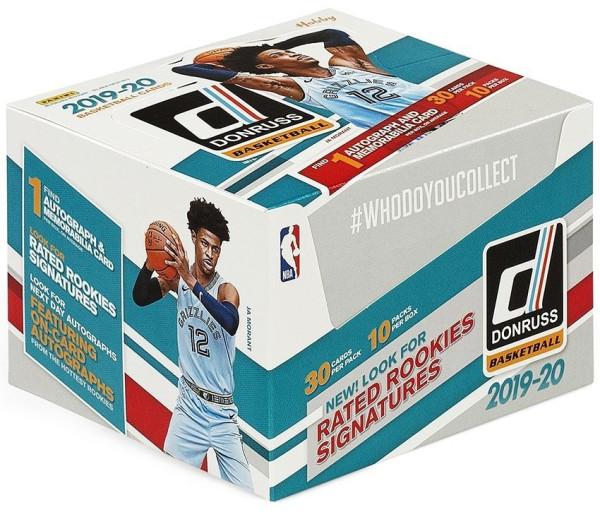 2019/20 Panini Donruss Basketball Hobby Box NBA