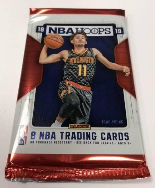 2018/19 Panini NBA Hoops Basketball Hobby Pack