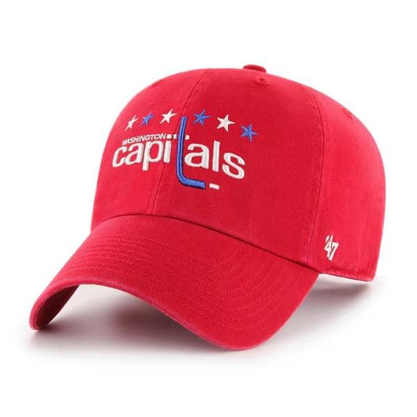 Washington Capitals '47 Clean Up Adjustable NHL Cap Rot