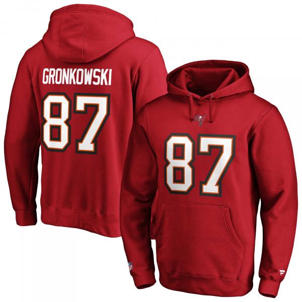 Rob Gronkowski #87 Tampa Bay Buccaneers Fanatics Player NFL Hoodie