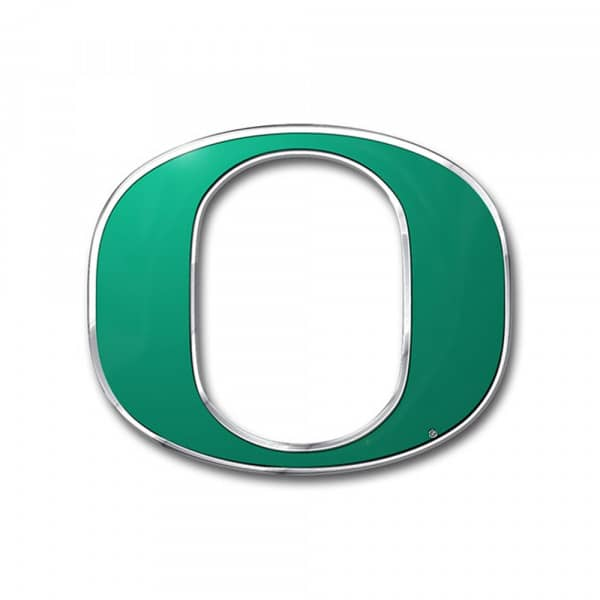 Oregon Ducks Aluminium Color NCAA Team Emblem